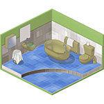 Concept Work - Barclays - Bathroom
