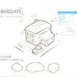 Concept Work - Barclays - Sketch 1