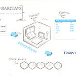 Concept Work - Barclays - Sketch 2