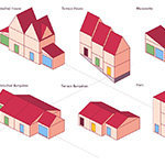 Isomatric Houses - Barclays - 8 House shapes